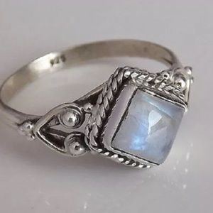 Jewelry - 🆕❤️ 925 silver white fire opal ring